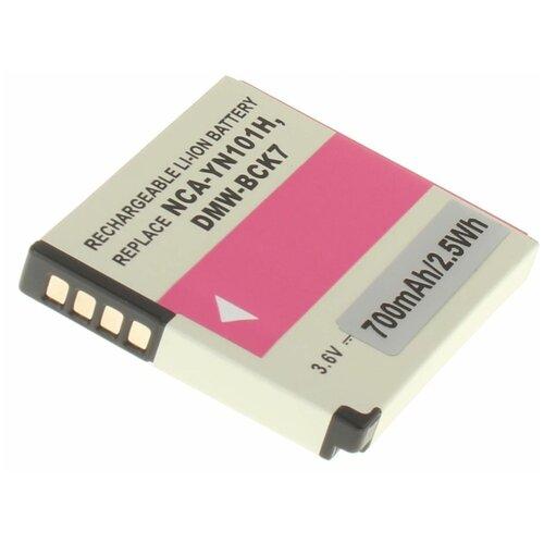 Фото - Аккумуляторная батарея iBatt 700mAh для Panasonic Lumix DMC-FT30, Lumix DMC-TS30, Lumix DMC-S5, Lumix DMC-SZ5 фотоаппарат panasonic dmc ft30 lumix blue