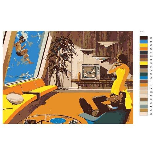 Картина по номерам «Дома» 50х70 см (Z-327)