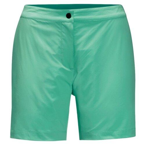 Шорты женские JACK WOLFSKIN Jwp Shorts размер XS pacific green трекинговый рюкзак jack wolfskin halo 24 corona lime