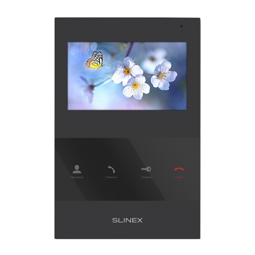 Фото - Домофон (переговорное устройство) Slinex SQ-04 Black черный (домофон) домофон переговорное устройство tantos lilu sd белый домофон