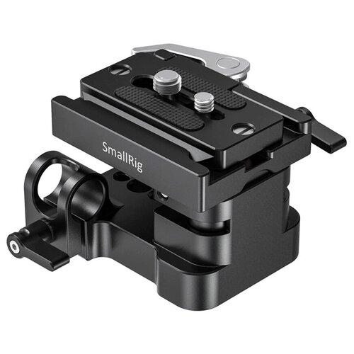 Фото - Система крепления SmallRig 2092B для направляющих 15 мм, со съемной площадкой площадка smallrig 1798 с креплением для направляющих 15 мм