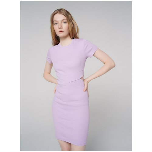 Платье ТВОЕ 81297 размер XS, сиреневый, WOMEN