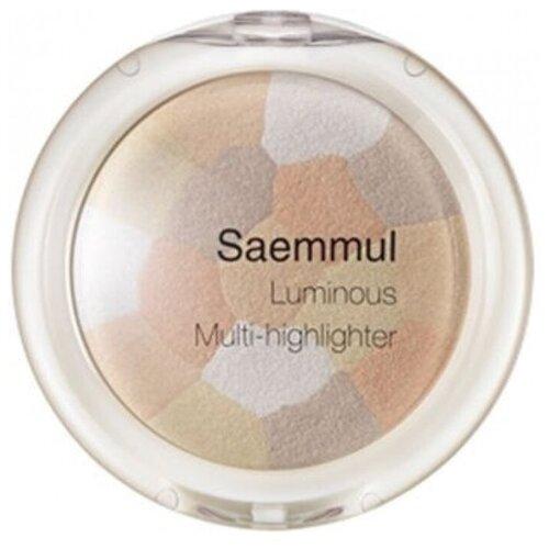 Купить The Saem Saemmul Хайлайтер Luminous Multi-highlighter 02 Gold Beige