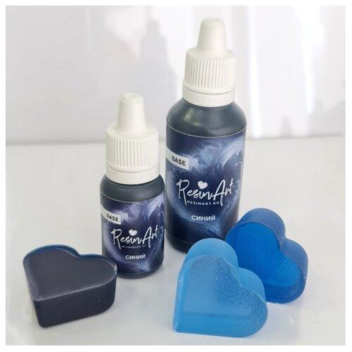 Купить Краситель для эпоксидной смолы ResinArt, синий, 10 мл, Вспомогательные жидкости