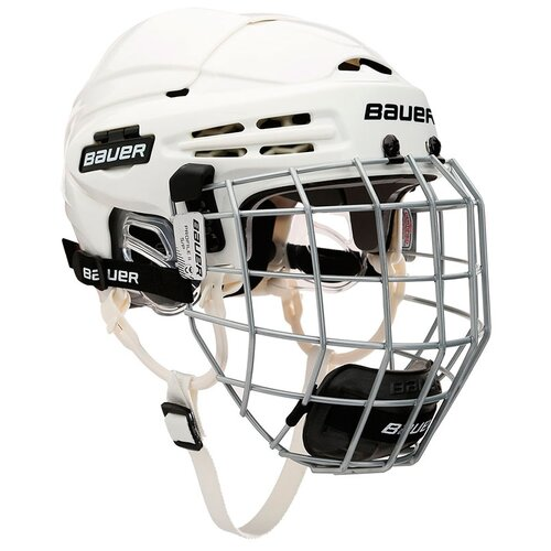 Шлем хоккейный+маска BAUER 5100 Сombo(L / белый/L)