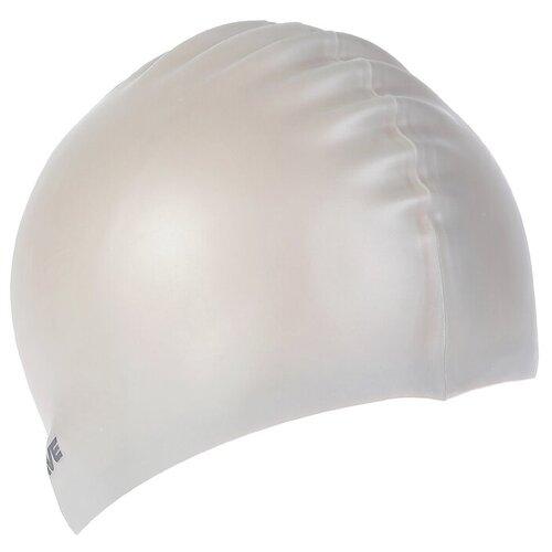 Силиконовая шапочка для плавания INTENSIVE, M0535 01 0 17W, серый очки для плавания mad wave spurt rainbow azure white