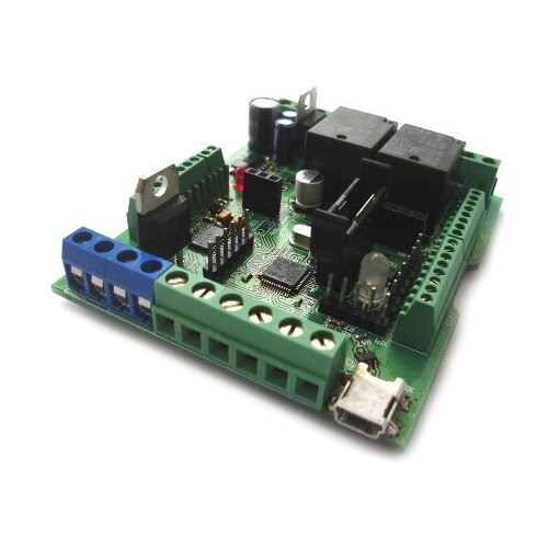 Логический модуль (таймер, термостат, часы, ацп, шим) MP8036multi