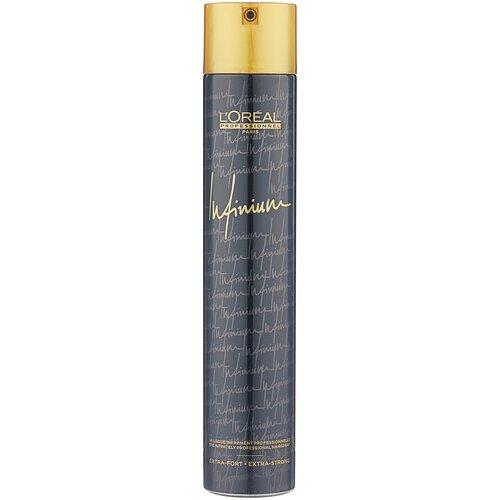 Купить L'Oreal Professionnel Лак для волос Infinium Extra strong, экстрасильная фиксация, 500 мл