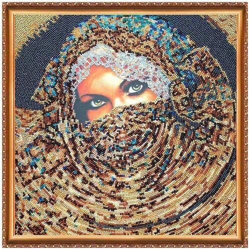 Купить АВ-174 Набор для вышивания бисером 'Абрис Арт' 'Шахерезада', 30*30 см, ABRIS ART, Наборы для вышивания