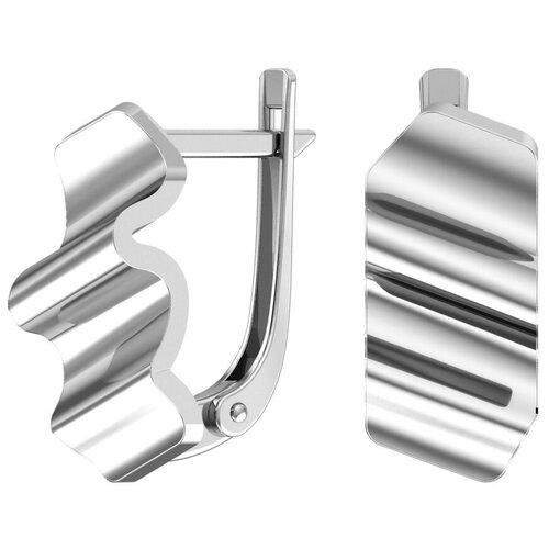 POKROVSKY Серебряные серьги 2101169-00245 pokrovsky серебряные серьги 2121129 00245