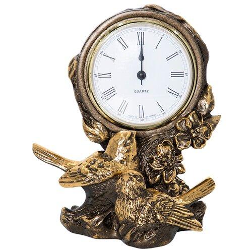 Часы настольные BOGACHO Терра Симфони Бронза часы настенные bogacho терра бронза