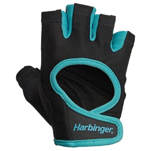 Перчатки Harbinger Power, женские, голубые, размер S женские перчатки harbinger flexfit размер s черные