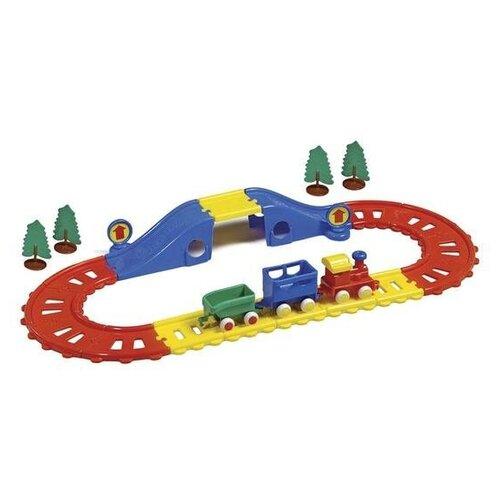 Купить Viking Toys Игровой набор Железная дорога, 45573, Наборы, локомотивы, вагоны