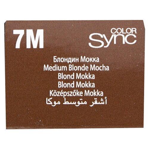 Купить Matrix Color Sync краска для волос без аммиака, 7M блондин мокка, 90 мл