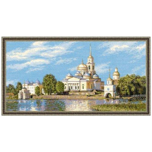 Фото - Риолис Набор для вышивания крестом Нилова Пустынь 60 x 30 (1457) риолис набор для вышивания крестом русская охота 60 x 40 1639