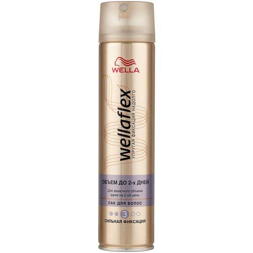 Wella Лак для волос Wellaflex Объем до 2 дней, сильная фиксация, 250 мл недорого