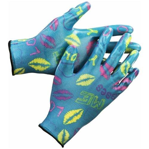 Перчатки GRINDA 11296-S 1 пара голубой