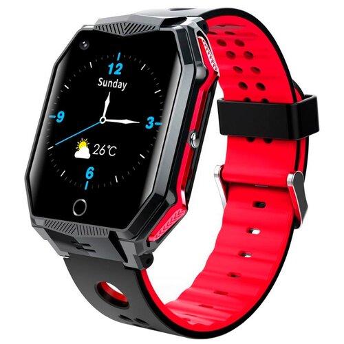 FA68 Водонепроницаемые детские смарт часы с GPS трекером / Умные часы телефон для детей / Smart Baby Watch Красный детские умные часы телефон с gps smart baby watch df25 голубые