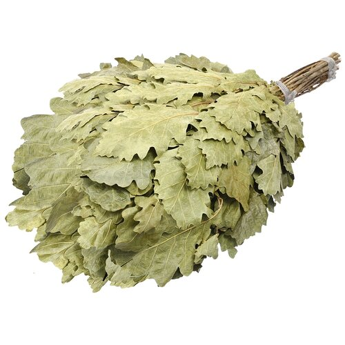 Банные штучки Веник дубовый Богатырь зеленый