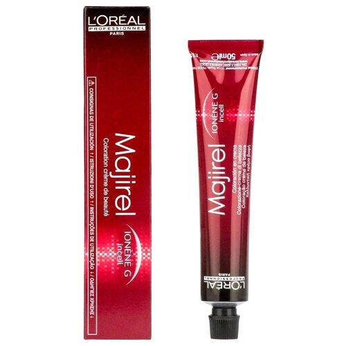 Купить L'Oreal Professionnel Majirel стойкая крем-краска для волос, 5.35 светлый шатен золотистый красное дерево, 50 мл