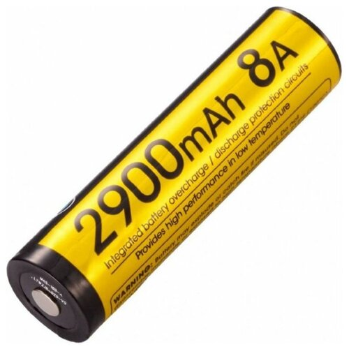 Фото - Аккумулятор Nitecore NL1829LTPH 18650 (2900mAh.8A) аккумулятор nitecore nl1665r