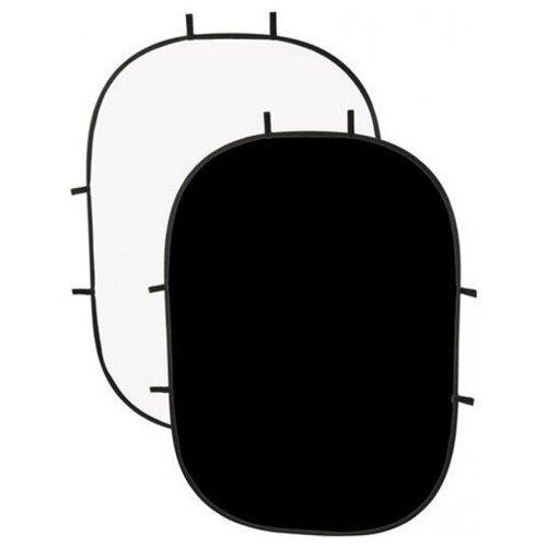 Фото - Фон на пружине Raylab RF-12 белый/черный 100x150см тетрадь на пружине printio генгар