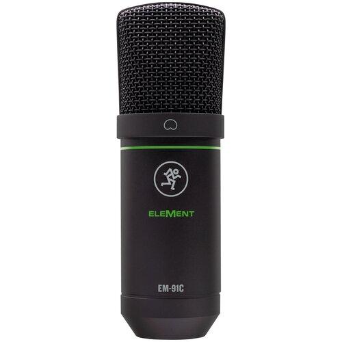 Микрофон Студийный Mackie EM-91C конденсаторный с большой диафрагмой