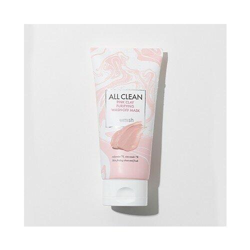 Купить Очищающая глиняная маска | Heimish All Clean Pink Clay Purifying Wash Off Mask 150г
