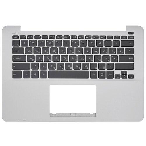 Топ-панель Asus ZenBook X302LA серебряная