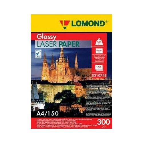 Фото - LOMOND Фотобумага LOMOND Двухсторонняя Глянцевая, для лазерной печати, 300 г/м2, A4/150л. lomond 2020345
