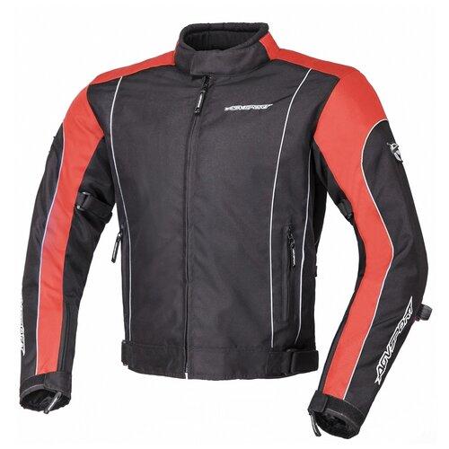 Текстильная куртка AGVSPORT Apex черный/красный L (Размер производителя)