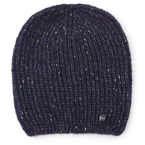 шапка женская finn flare цвет ярко синий a20 11148 111 размер 56 Шапка женская Finn Flare, цвет: темно-синий A20-32147_101, размер: 56