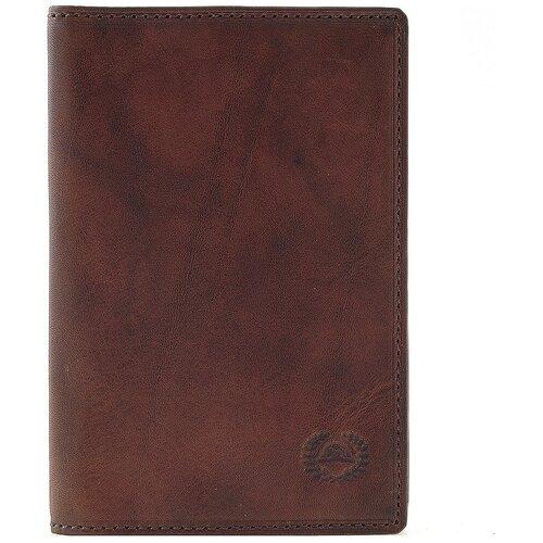 Обложка для паспорта Tony Perotti Vintage, мужская, натуральная кожа, коньяк