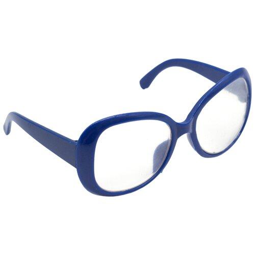 Купить 26504 Очки со стеклом, пластик, 8, 5 см, 1шт (синий), SOVUSHKA, Одежда для кукол