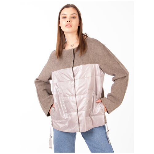 Фото - Куртка Chiago, размер 46, бежевый куртка icepeak 650010588iv размер 140 бежевый