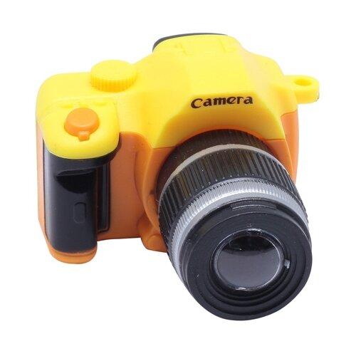 Фотоаппарат со вспышкой, 45*25*50мм (28364 желтый)