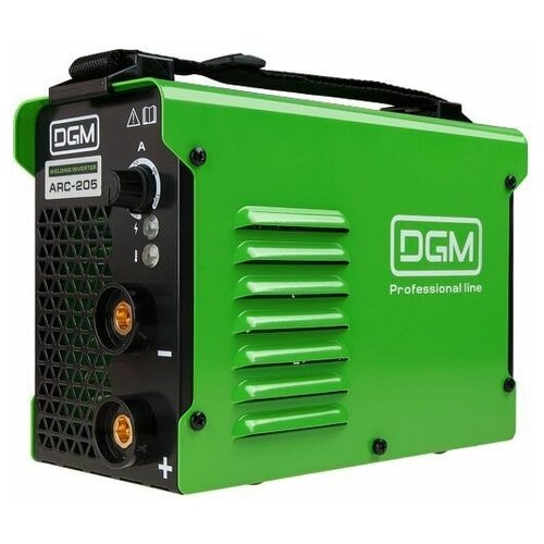 Инвертор сварочный DGM ARC-205 (160-260 В; 10-120 А; 80 В; электроды диам. 1.6-4.0 мм)
