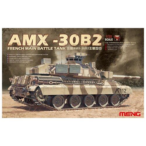realts voyager models 1 35 modern russian t 90 dozer basic detail set for meng ts 014 Сборная модель MENG - TS-013 танк MAIN BATTLE TANK AMX-30B2 1/35