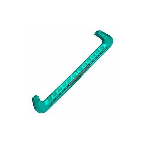 Чехлы для коньков Mad Guy составные на пружине (размер Стандартный, цвет Зеленый)