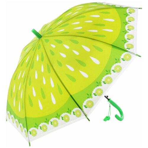 Зонтик детский трость, 66см Amico 118357