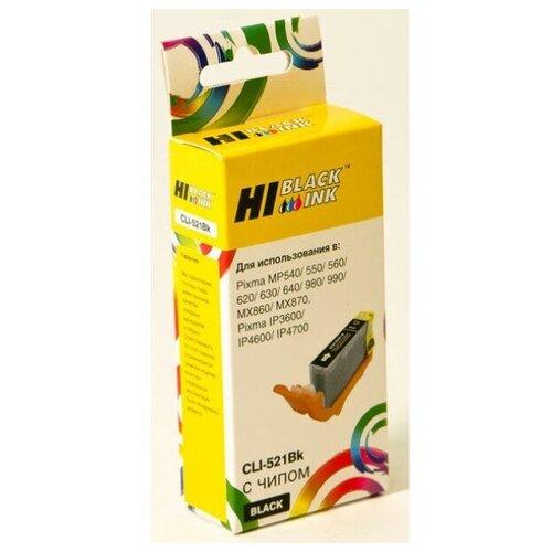 Фото - Картридж Hi-Black (HB-CLI-521Bk) для Canon PIXMA iP3600/iP4600/MP540, Bk hi black картридж hi black для canon e 30 fc 200 210 220 230 330 4000стр