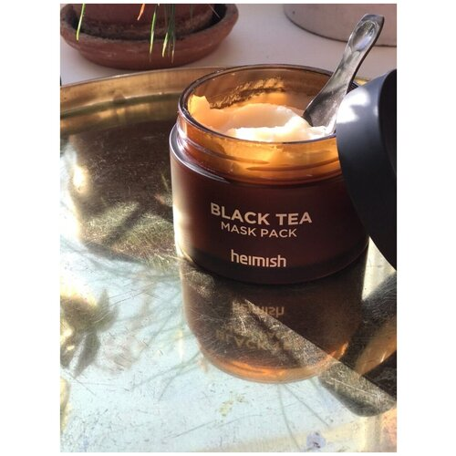 Купить Антиоксидантная маска против отеков Heimish Black Tea Mask Pack