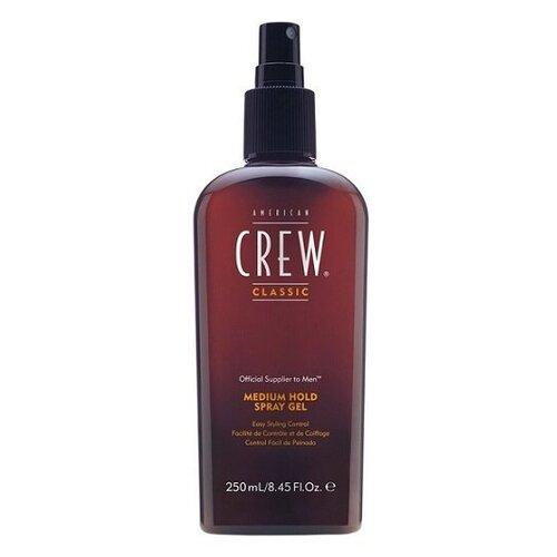 Купить American Crew Classic Medium Hold Spray Gel Спрей-гель для укладки волос средней фиксации 250мл