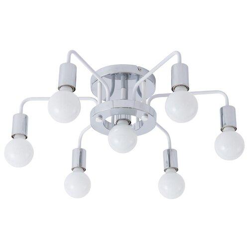 Фото - Люстра потолочная GELO A6001PL-7WH люстра потолочная arte lamp gelo a6001pl 9bk