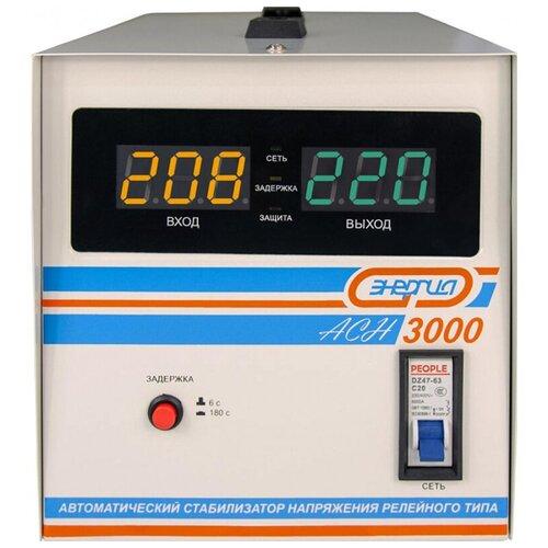 Стабилизатор напряжения энергия АСН-3000 (2400Вт, клеммы/клеммы)