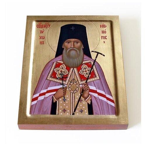 Священномученик Тихон Воронежский, Никаноров, икона на доске 13*16,5см