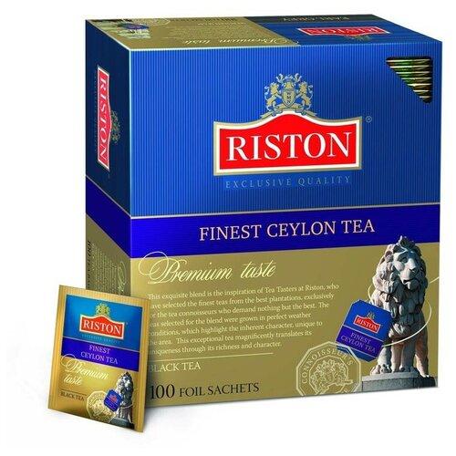 Чай Riston Finest Ceylon черн.100 пак/уп