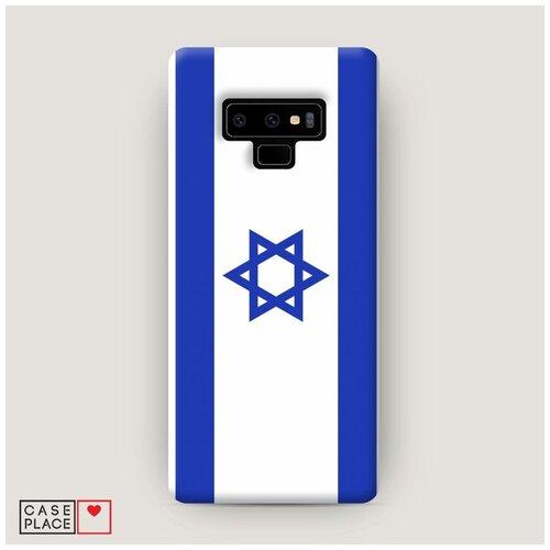 Чехол Пластиковый Samsung Galaxy Note 9 Флаг Израиля