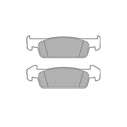 Дисковые тормозные колодки передние DELPHI LP2663 для Renault, Dacia (4 шт.)