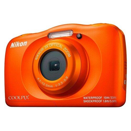 Фото - Фотоаппарат Nikon Coolpix W150 ORANGE BACKPACK KIT + рюкзак в подарок printio рюкзак 3d русалка в аквариуме